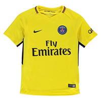 Tricou Deplasare Nike Paris Saint Germain 2017 2018 pentru copii
