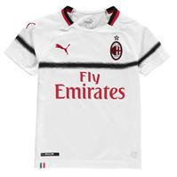 Tricou Deplasare Puma AC Milan 2018 2019 pentru copii