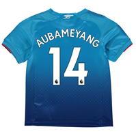 Tricou Deplasare Puma Arsenal Pierre Emerick Aubameyang 2017 2018 pentru copii