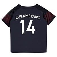 Tricou Deplasare Puma Arsenal Pierre Emerick Aubameyang 2018 2019 pentru copii