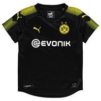 Tricou Deplasare Puma Borussia Dortmund 2017 2018 pentru copii