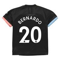Tricou Deplasare Puma Manchester City Bernardo Silva 2019 2020 pentru copii