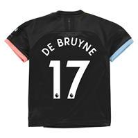 Tricou Deplasare Puma Manchester City Kevin de Bruyne 2019 2020 pentru copii
