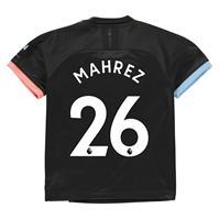 Tricou Deplasare Puma Manchester City Riyad Mahrez 2019 2020 pentru copii