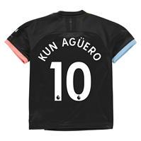 Tricou Deplasare Puma Manchester City Sergio Aguero 2019 2020 pentru copii