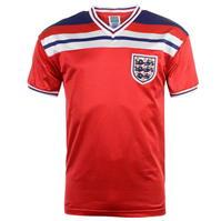Tricou Deplasare Score Draw Anglia 1982 pentru Barbati