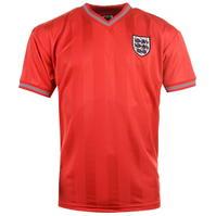 Tricou Deplasare Score Draw England 1986 pentru Barbati