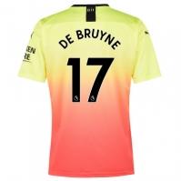 Tricou sport Third Puma Manchester City Kevin de Bruyne 2019 2020