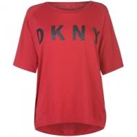 Tricou cu imprimeu DKNY Sport Sparkle pentru Femei