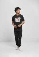 Tricou Dream Thoughts negru Mister Tee