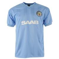 Tricou echipa Score Draw Manchester City fotbal Club 1984 pentru Barbati
