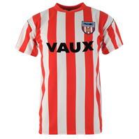 Tricou echipa Score Draw Sunderland fotbal Club 1990 pentru Barbati