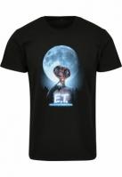 Tricou E.T. Face negru Merchcode