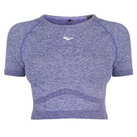 Tricou Everlast cu Maneca Scurta Crop pentru Femei