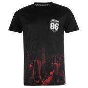 Tricou Fabric rosu City pentru Barbati