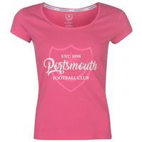 Tricou Team FC Crest Print pentru Femei
