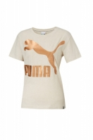 Tricou femei Arhive W Logo Tee Heather Puma
