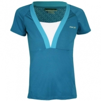 Tricou femei Fitness Tee Caspian  Blue Reebok