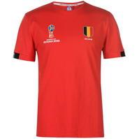 Tricou FIFA Cupa Mondiala 2018 Rusia Belgia Core pentru Barbati