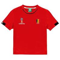 Tricou FIFA Cupa Mondiala 2018 Rusia Belgia Poly pentru copii