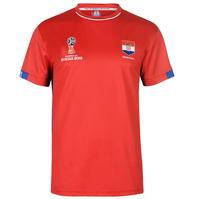 Tricou FIFA World Cup Russia 2018 Croatia Poly pentru Barbati