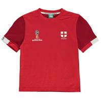 Tricou FIFA World Cup Russia 2018 England Core pentru copii