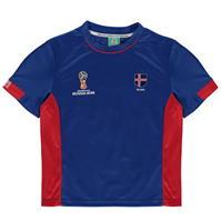 Tricou FIFA Cupa Mondiala 2018 Rusia Islanda Poly pentru copii