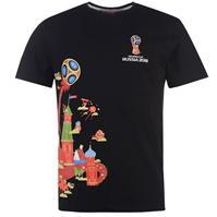 Tricou FIFA World Cup Russia 2018 imprimeu Graphic pentru Barbati