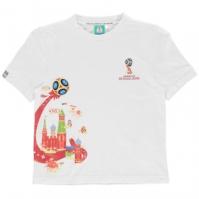 Tricou FIFA Cupa Mondiala 2018 Rusia imprimeu Graphic pentru copii