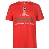 Tricou FIFA Cupa Mondiala 2018 Rusia Portugalia imprimeu Graphic pentru Barbati