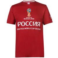 Tricou FIFA World Cup Russia 2018 Russia imprimeu Graphic pentru Barbati