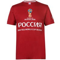 Tricou FIFA Cupa Mondiala 2018 Rusia Rusia imprimeu Graphic pentru Barbati
