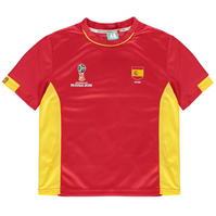 Tricou FIFA Cupa Mondiala 2018 Rusia Spania Poly pentru copii