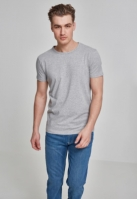 Tricou Fitted Stretch gri Urban Classics