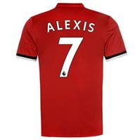 Tricou fotbal adidas Manchester United Home Alexis Sanchez 2017 2018