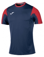 Tricou fotbal Estadio Joma bleumarin-rosu cu maneca scurta