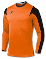 Tricou fotbal Estadio Joma Orange-negru cu maneca lunga
