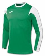 Tricou fotbal Estadio Joma verde-alb cu maneca lunga
