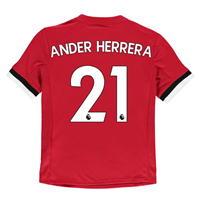 Tricou fotbal adidas Manchester United Ander Herrera Home pentru copii