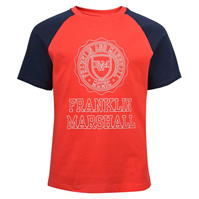 Tricou Franklin and Marshall contrast