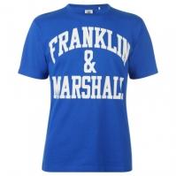 Tricou Franklin and Marshall Print