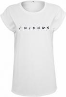 Tricou Friends Logo pentru Femei alb Merchcode