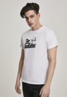 Tricou Godfather Logo alb Merchcode