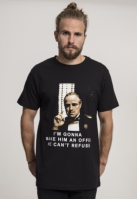 Tricou Godfather Refuse negru Merchcode