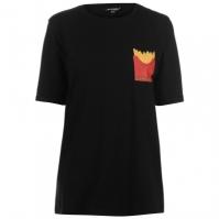 Tricou Golddigga Roll Sleeve pentru Femei