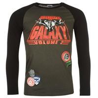 Tricou Guardians of the Galaxy Raglan pentru Barbati cu personaje