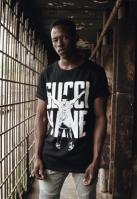 Tricou Gucci Mane Guwop Stance negru Merchcode