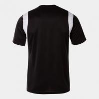 Tricou handbal Dinamo Joma negru cu maneca scurta