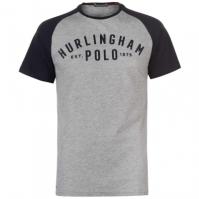 Tricou Hurlingham Polo 1875 Essential Varsity pentru Barbati