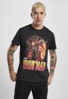 Tricou Iron Man Comic negru Merchcode